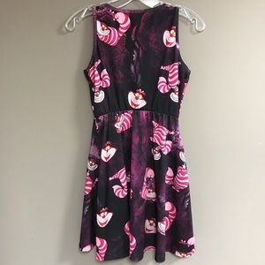 3a313c544 Disney Dresses | Juniors Cheshire Cat Skater Dress | Poshmark